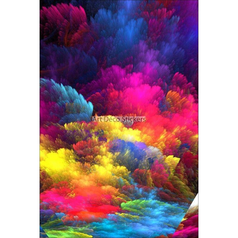 KÜHLSCHRANKMAGNET Deko Multitudes Farben 60x90cm Ref 6253 6253