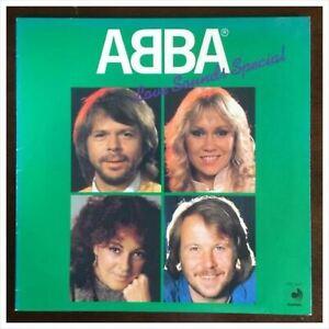 Usato-Abba-Amore-Suoni-Speciale-Japan-Only-Verde-Colore-LP-DSP-3027-F-S-Forma