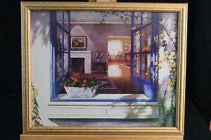 Outside-Looking-In-Print-Framed-Landscape-Summer-Floral