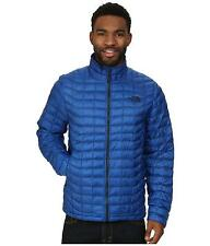 THE NORTH FACE MENS THERMOBALL JACKET FULL ZIP INSULATED MONSTER BLUE SIZE L NEW