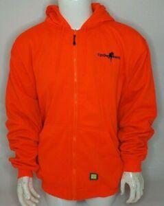 Berne High Visibility Orange Hunting Hoodie Size Xl Pullover Hv Ebay
