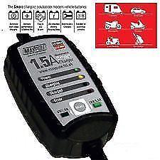 Maypole 1.5A Maintenance Smart Battery Charger Car 6V//12V Lead Or AGM MP7403
