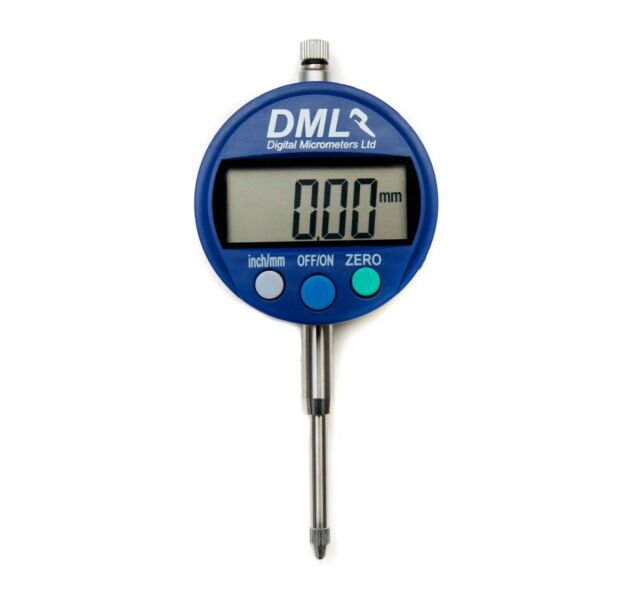 0.0005 /'/' Range 0-12.7mm Clock Gauge LCD Digital Dial indicator DTI 0.01mm