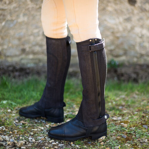 Summer//Holiday Riding Just Chaps Adult Equestrian Cool Horse Riding Half Chaps