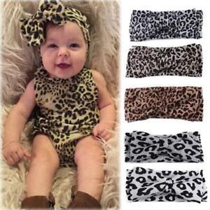 Elastic-Bow-Hair-Accessories-Headwear-Leopard-Headband-Knot-Turban-Hair-Band