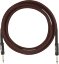 Genuine-Fender-Professional-Series-Guitar-Instrument-Cable-RED-TWEED-10-039-ft thumbnail 2