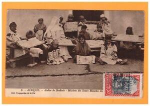 SOUDAN-ECOLE-MISSION-des-SOEURS-BLANCHES-ATELIER-de-BRODERIE-vers-1930