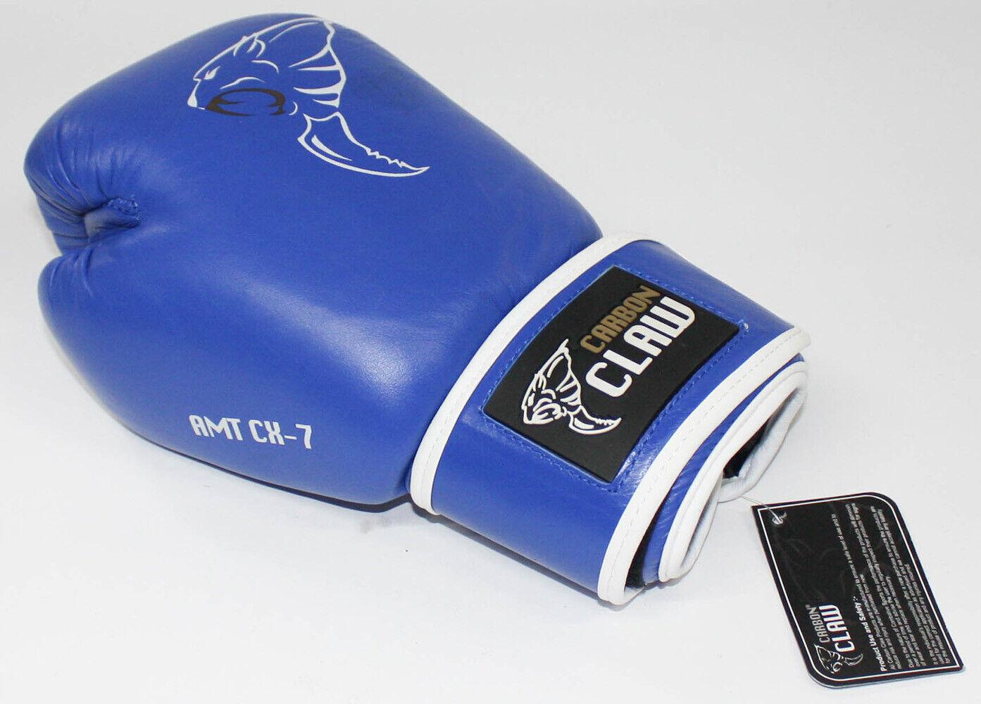 autobon Artiglio Guantoni da scatola con Amt cx7 Sparring Guanti 10oz Blu