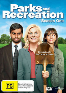 Parks-and-Recreation-Season-1-NEW-DVD-Region-4-Aust-Amy-Poehler-Rashida-Jones
