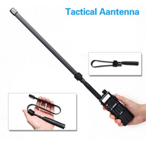 NEW Tactical Antenna SMA-Female Dual Band VHF UHF For Baofeng UV-5R//82 GL