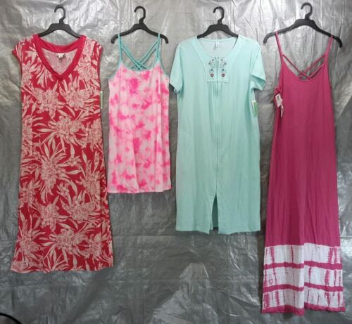 Wholesale Lot of 50 Assorted Sleep Gowns Dresses Pajama Sleepwear Women S-L Size