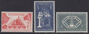 Luxembourg-1956-Mi-No-552-54-E-C-S-C-70-Europe-follower-output