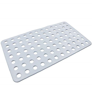 AIR TREE Non Slip Shower Mat//Bath Mats,Rubber Bathtub Mat with Big Drainage for