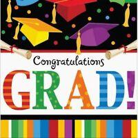 Graduation Fest Lunch Napkins 18 Ct congratulations Grad Party