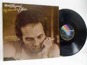 MERLE HAGGARD my farewell to elvis (1st uk press) LP EX+/EX-, MCF 2818, vinyl,