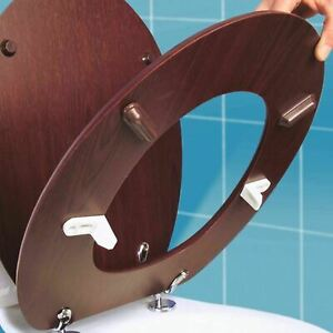 Wobbly-Toilet-Seat-Loose-Loo-Quick-Fix-Buffers-Bumpers-Slipping-Sliding-Steady