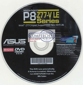Asus P8Z77-V LE BUpdater Drivers for Windows 8