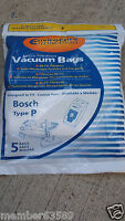 Vacuum Cleaner Bag Bags Type P Fit Bosch Bz52afp2u Bbz52afp1u Bo-bbz52afp2u