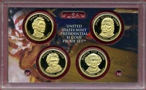 2008-S Presidential $1 Coin Proof Set w//OGP Box /& COA