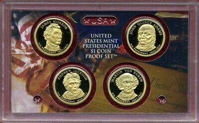 2010 S US Mint Presidential $1 Coin Proof Set OGP Proof