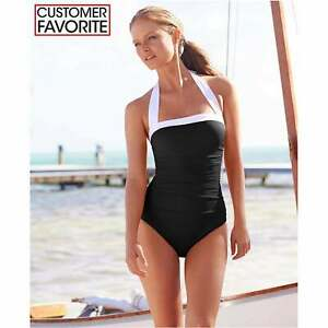 3602002898e76 Lauren by Ralph Lauren Bel Aire Slimming Fit Mio One Piece Swimsuit ...