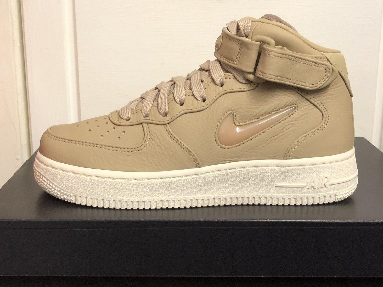Nike Air Force 1 Mid Retro PRM Bijou Homme Baskets Chaussures UK 4 EUR 36,5 US 4,5
