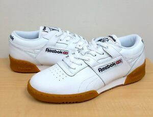 94a7bb1a27e24d Image is loading MENS-REEBOK-CLASSIC-WORKOUT-LO-White-Gum-63978-