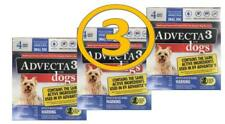 Small Dogs Care Pets Supplies Flea and Tick Prevention 4-10 Lbs 4 Treatments