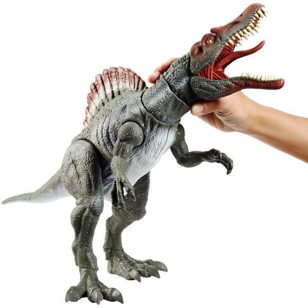 Spinosaurus Dinosaur Jurassic World Figure Extreme Chompin Action