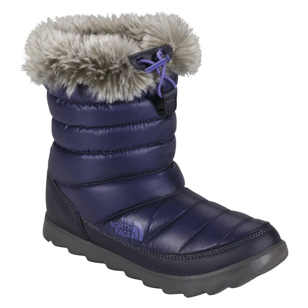 The North Face Thermoball Micro Baffle Bootie Boots Shiny Astral Aura Blue Iris