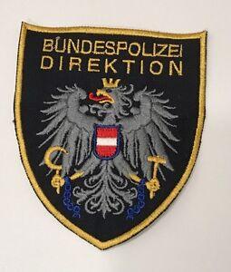 Aufnäher Bundespolizeidirektion