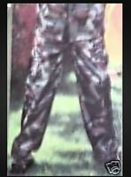 Mens Camo Showerproof Trousers Size Large