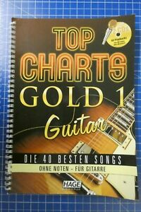 Top-Charts-Gold-1-Guitar-Hage-Musikverlag-2010-mit-2-CD-H-306