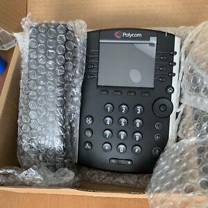 Polycom Vvx400 Ip Deskphone-hd Voice-neuf Et Jamais Utilisé-afficher Le Titre D'origine Avec Des MéThodes Traditionnelles