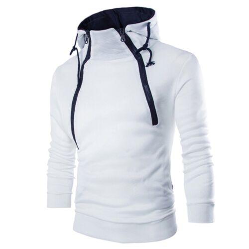 Men/'s Slim Fit Outwear Sweater Winter Hoodie Warm Coat Jacket Hooded Sweatshirt