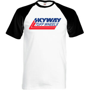 Skyway-Tuff-Wheels-Mens-Retro-BMX-T-Shirt-Cycling-Bandit-Bike-Mongoose-MTB