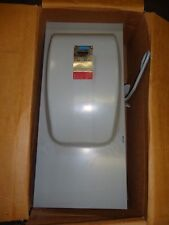CROUSE-HINDS DF324A GENERAL DUTY SAFETY SWITCH 240 VAC 200A MAX HP 50