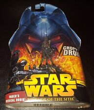 STAR WARS VADER'S MEDICAL DROID #37 REVENGE OF SITH ACTION FIGURE NEW CHOPPER