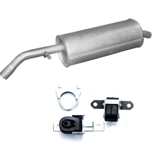 Montagesatz Pluriel 1.4 HDi Diesel Endschalldämpfer Auspuff Citroen C2 C3