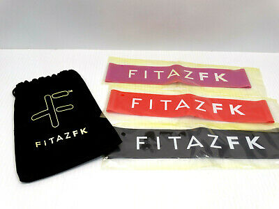 FitazFK Workout Booty Bands Set with Carrying Bag New