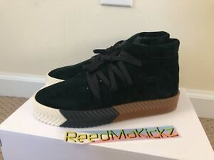 new arrivals a15ce 4cda7 Image is loading Adidas-AW-Skate-Mid-Alexander-Wang-Green-Night-