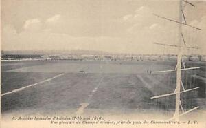 CPA-SEMAINE-LYONNAISE-D-AVIATION-1910-VUE-GENERALE-DU-CHAMP-D-039-AVIATION-PRISE-DU