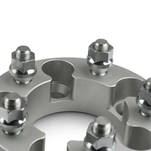 """2/"""" Wheel Spacers 5 x 114.3mm for Dodge Dakota Ford Explorer Ranger Mazda Silver"""