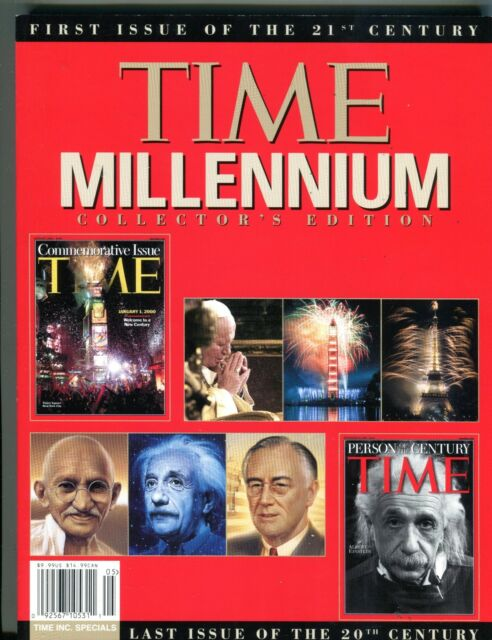 Time Magazine December 31 1999 Millennium Collector's Edition EX No ML 093016jhe