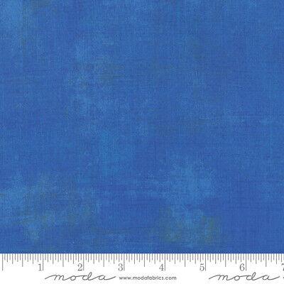 Royal Blue 100/% Cotton Moda Fabric Grunge