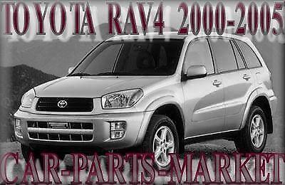 Derecho Lado Del Conductor Ala Puerta Espejo De Vidrio Plano Para Toyota Rav 4 2000-2005 climatizada