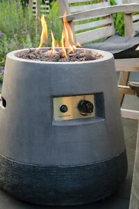 Details zu Outdoor Lava-Ofen Garten-Ofen Feuerstelle Feuerschale  Gartenfeuer Propan-Gas