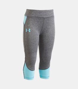 6059412577e49 Under Armour Studio – Pre-School Girls' Capris Pants Size 5 Carbon ...