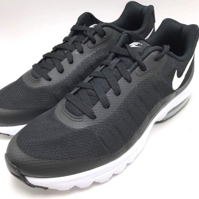 276687f9f1 Nike Air Max Invigor Men's Running Sneakers Shoes Black / White 749680-010