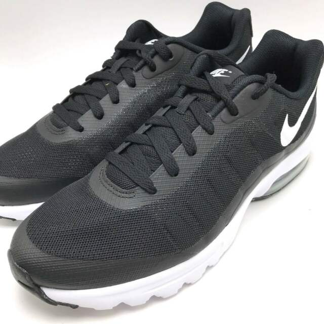 Nike Air Max Invigor Men's Running Sneakers Shoes Black / White 749680-010
